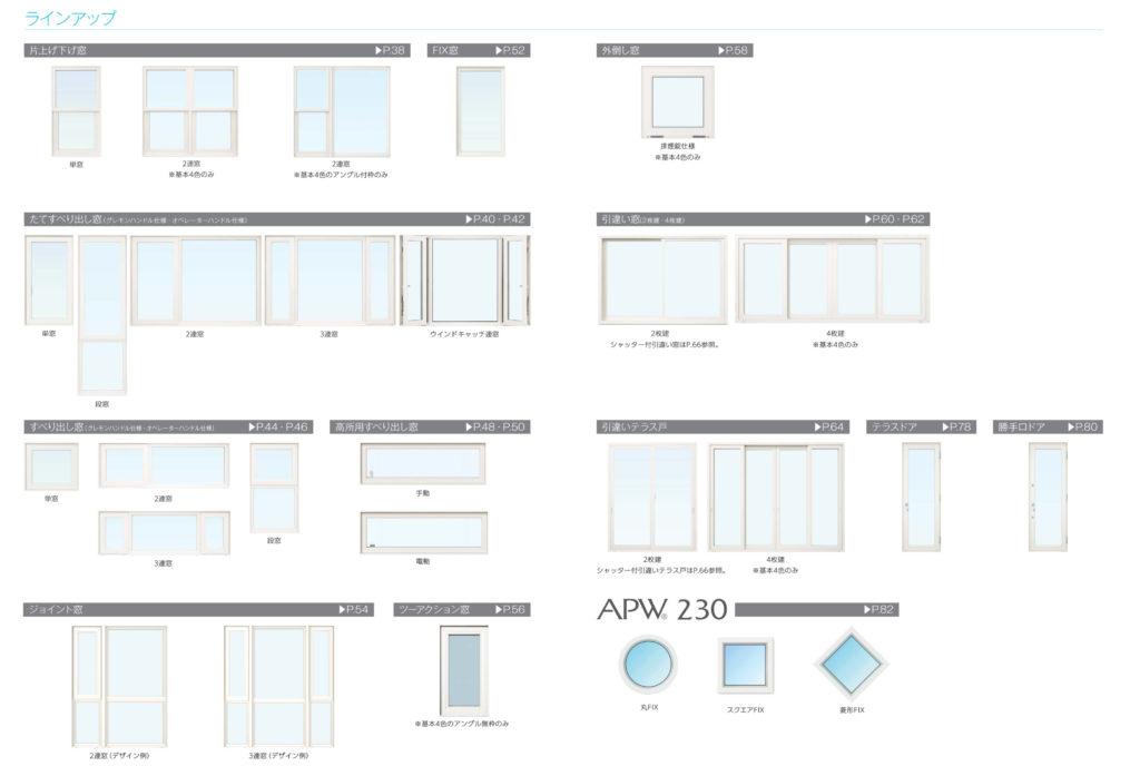APW330ラインナップ